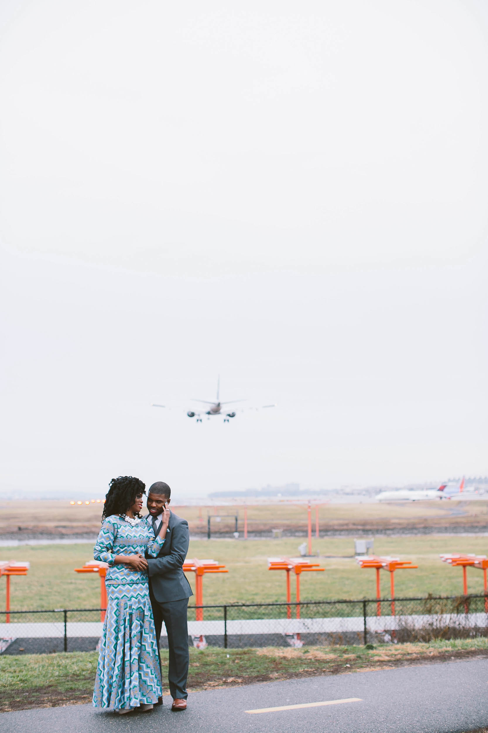 Gravelly Point Engagement Photo Session
